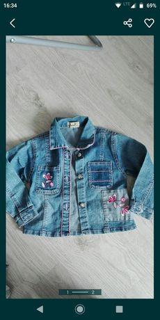 Kurtka jeansowa katana jeans 92 wiosna jesień