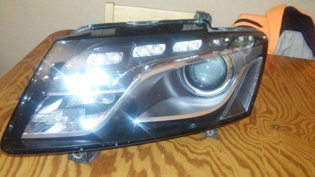 Lampa samochodowa Audi Q5 lewa xenon skretny LED oryginal 8R0