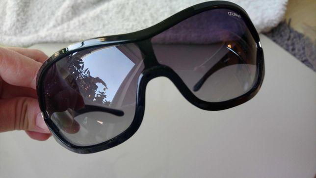 Okulary przeciwsłoneczne czarne , duże , nowe oryginalne COLIBRA