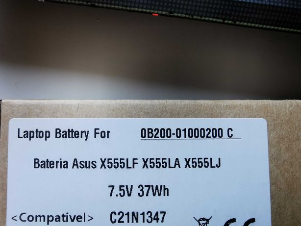 Bateria portátil ASUS X555LF / X555LA / X555LJ