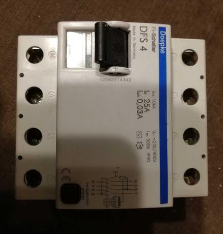 Wyłącznik różnicoprądowy DFS 4 25 A DOEPKE