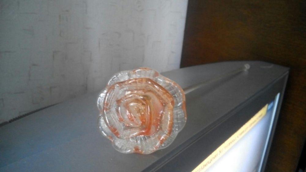 Стеклянная роза 25 руб Макеевка - изображение 1