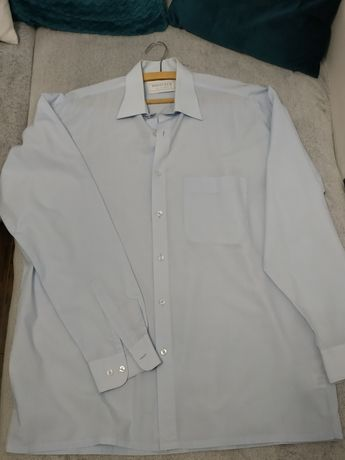 Koszula męska XL błękitna