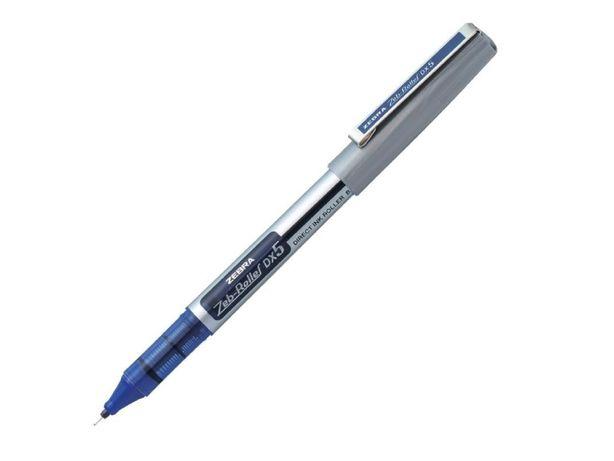 Ручка роллер чернильная ZEBRA Zeb-Roller DX5 EX-JB2. Япония