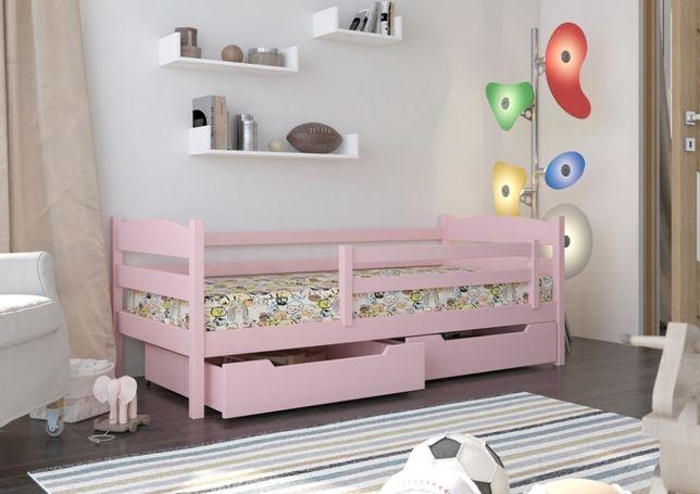 Drewniane łóżeczko dla dziecka polskiej firmy - 2 lata GWARANCJI!