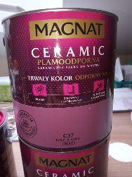 Sprzedam farbę Magnat Ceramic C37