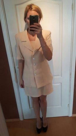 Sukienka + żakiecik r. 38-40