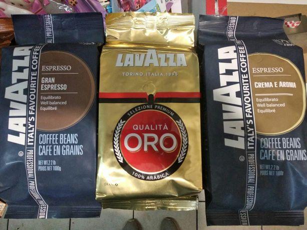 Кофе зерновой Лавацца Лавазза Lavazza 1 кг 6 видов в Донецке