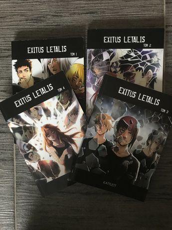 Exitus letalis, komiks, Kattlett, manga