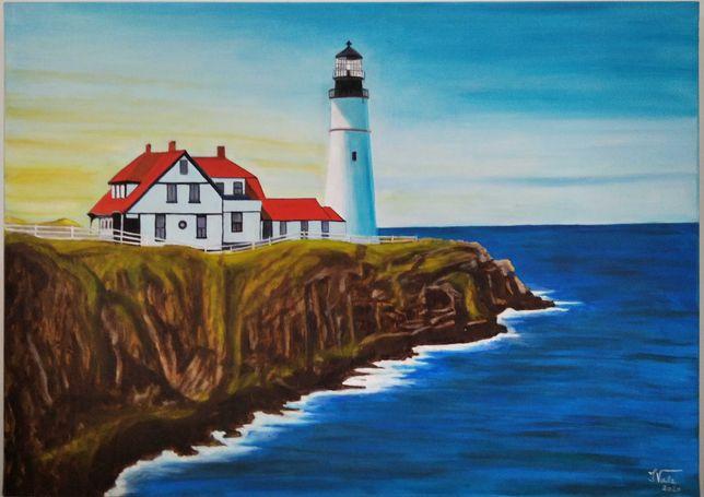 Pintura a óleo sobre tela 50X70