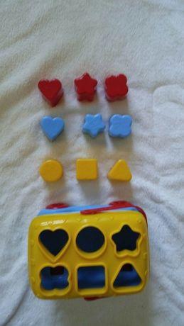 Brinquedo de encaixe - autocarro Mickey Mouse da Clementoni