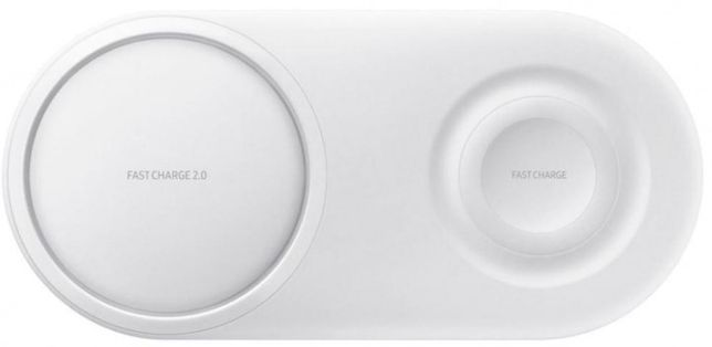 SAMSUNG Wireless Charger Duo (White) EP-P5200TWRGRU