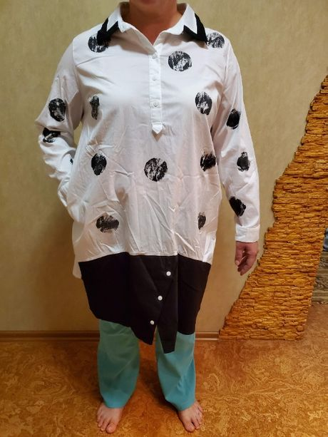 Рубашка-туника размер 54-56