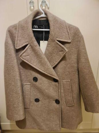 Nowy płaszcz zara xs
