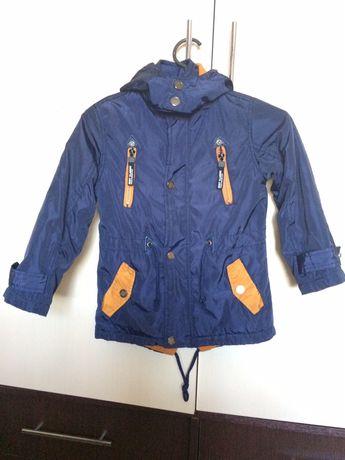 Куртка осенняя / весенняя на флисе