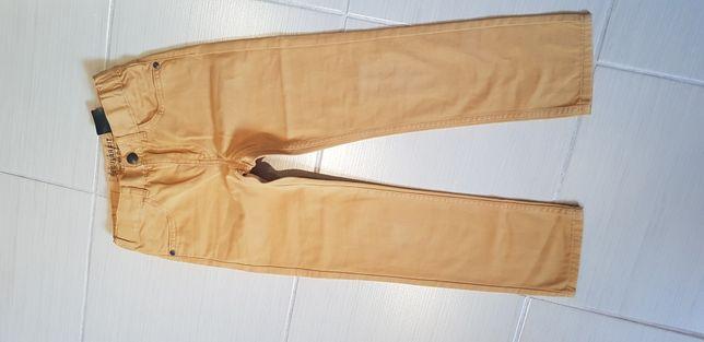 Spodnie chłopięce rozmiar 116 4 sztuki