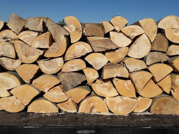 Drewno opałowe, kominkowe, cięte, łupane z Transportem!