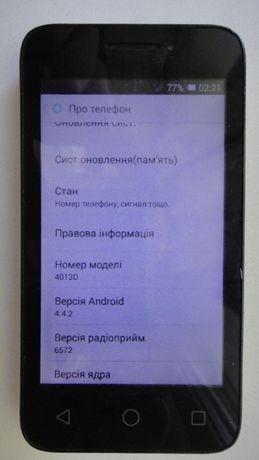 мобильный телефон смартфон Alcatel One Touch Pixi, 2 симкарты