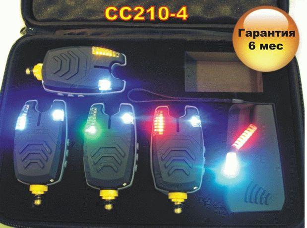 Набор Электронные Сигнализаторы Поклевки CarpCruiser FA210-4 с пейджер