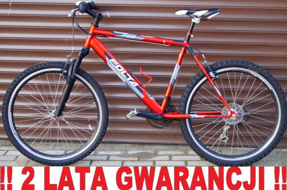 Rower FOLTA 26' - Duża rama, NOWE KOMPONENTY. Licznik prędkości GRATIS Elbląg - image 1