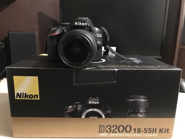 Nikon D3200 18-55ll kit