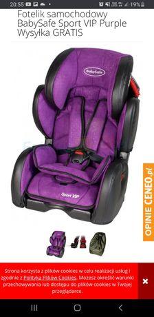 Fotelik samochodowy dziecięcy baby safe vip
