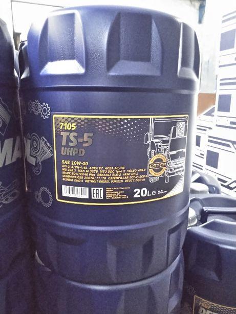 Масло для грузовиков 10w40, 15w40 Евро 2,3,4