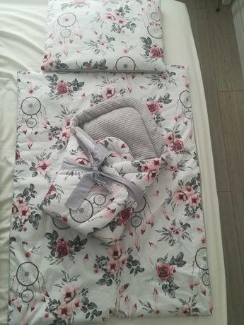 Pościel niemowlęca do łóżeczka i kołyski/kosza Mojżesza NOWA