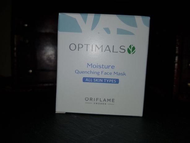 Oriflame Optimals maseczka nawilżająca do twarzy