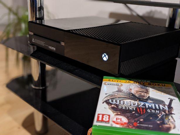 Konsola Xbox ONE 500GB, Pad, Wiedźmin Edycja Rozszerzona