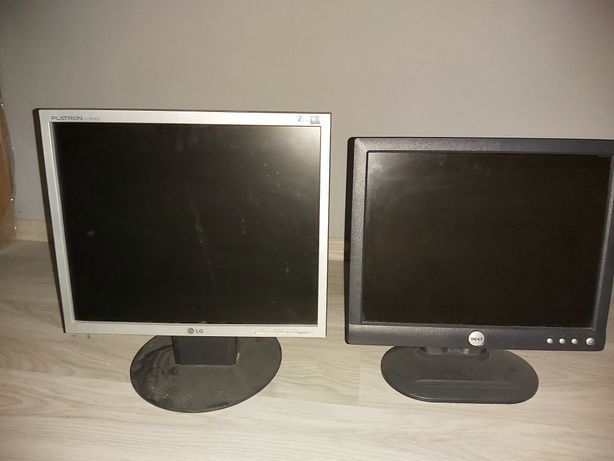 sprzedam dwa monitory