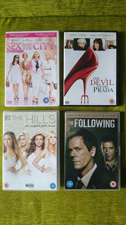 Seriale i filmy dvd po angielsku