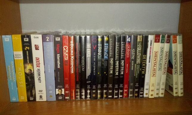 Seriale DVD - Mentalista, House, Fringe, Detektyw, Dexter, Plotkara