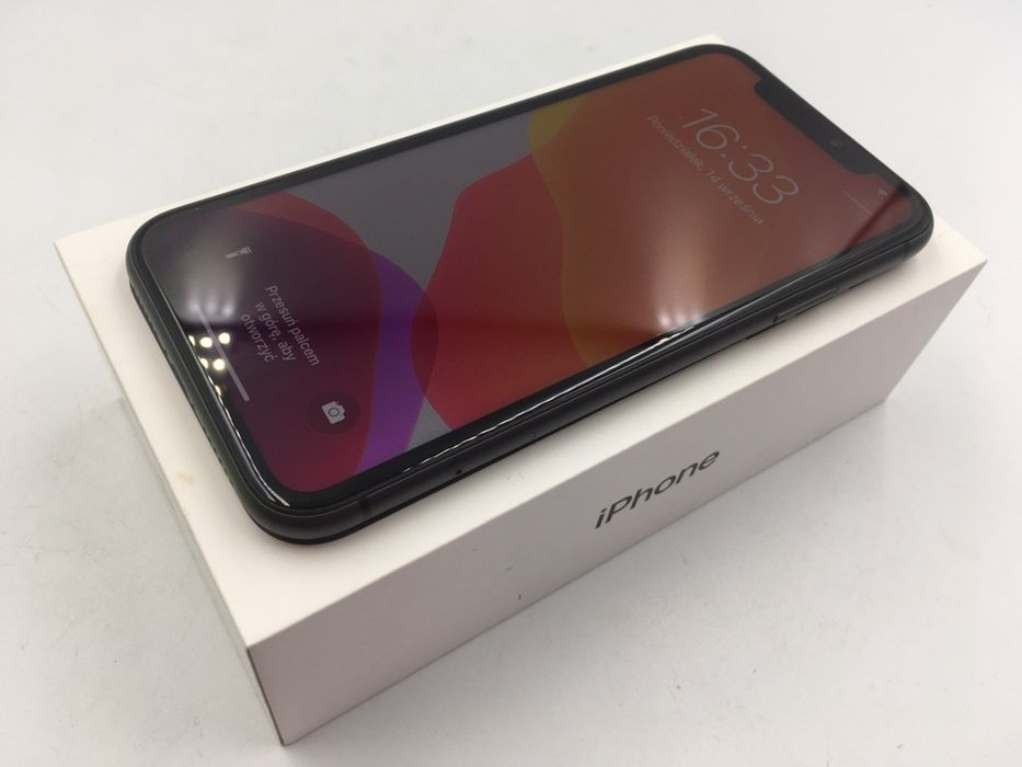 iPhone 11 64GB BLACK • PROMOCJA • GW do 22.09.2020 • AppleCentrum Wrocław - image 1