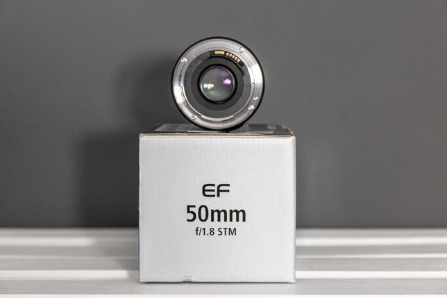 Obiektyw CANON EF 50 f/1,8 STM