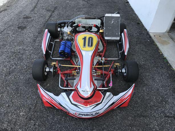 Kart Parolin TM 125 K9B Shifter Arranque eletrico