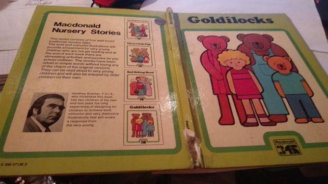 книга английский язык 3 ведмедя goldilocks macdonald nursery stories