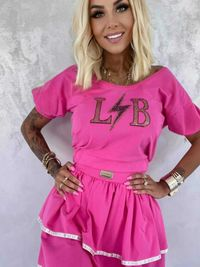 Komplet spódniczka i bluzka Lola Bianka