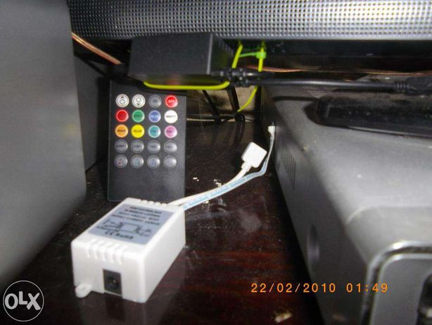 музыкальный контроллер для светодиодной ленты RGB