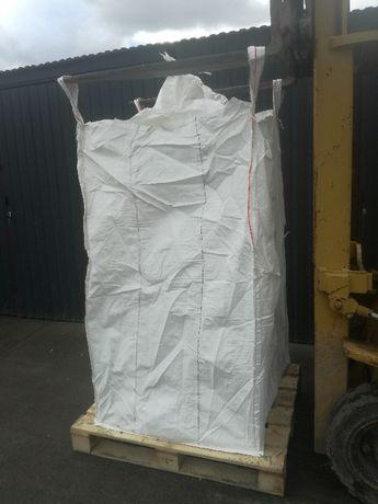 Worki Big Bag Uzywane 90/90/210cm na przemiały plastiku Granulat