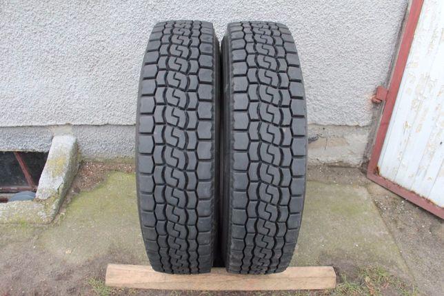 2x Bridgestone Mix 716 275/80R22,5 275 80 R22,5 14-15 mm