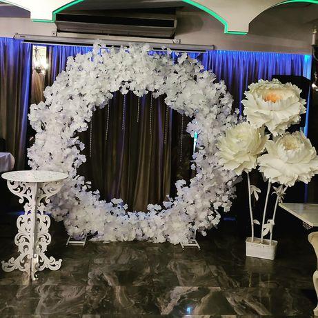"""Свадебная арка """"Кольцо"""".Оформление свадьбы"""
