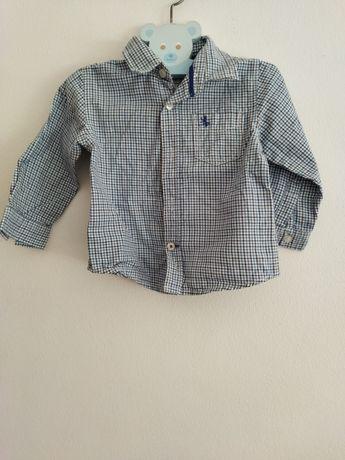 Camisa para menino 6-9
