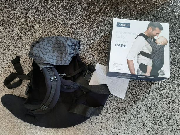 Nosidełko ergonomiczne CARE od 4,5 kg do 18 kg ZAFFIRO