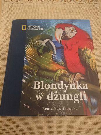 Blondynka w dżungli. Beata Pawlikowska