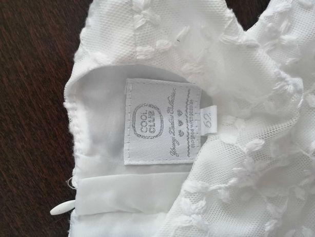 Biała sukienka r. 62