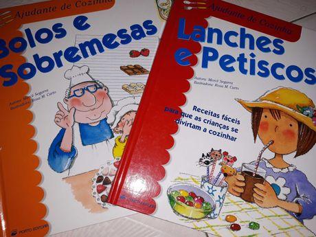Vários livros infanto-juvenis
