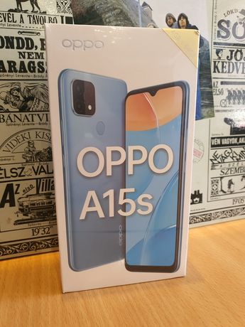 Nowy zafoliowany telefon Oppo A15s 4/64GB BLACK Gwarancja!!!