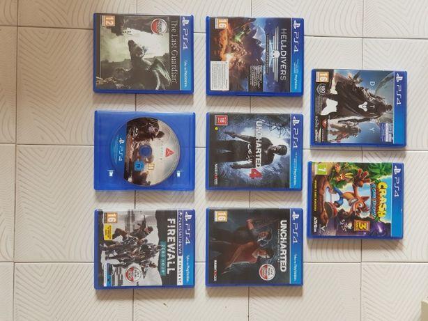 Gry PS4 do zakupienia osobno, sprawdź opis!