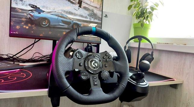 Игровой руль Logitech G923